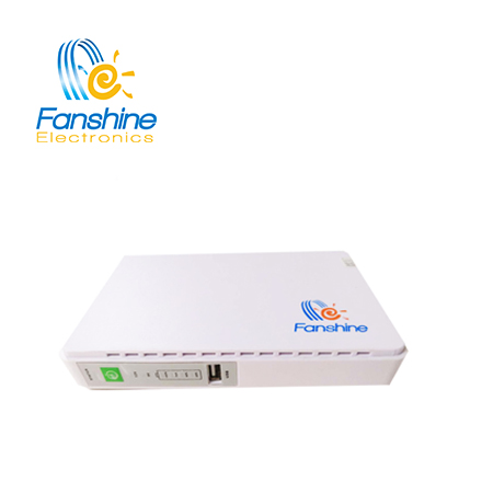 2018 Fanshine Hot Product DC UPS 5V/9V/12V/15V/24V Mini UPS